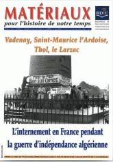 Matériaux pour l'histoire de notre temps, n° 92, octobre-décembre 2008, Vadenay, Saint-Maurice l'Ardoise, Thol, le Larzac.