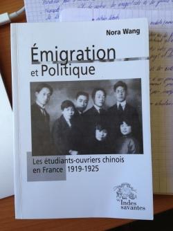 WANG Nora, Emigration et politique