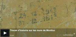 Découverte de graffitis de détenus de 42-44 en 2013