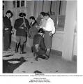 Opération de police dans le milieu nord-africain à Lyon le 9-08-1957