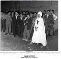Photo d'archives Le Progrès - Opération de police dans le milieu nord-africain à Lyon le 9/08/1957