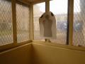 Salle d'entraînement des équipes régionales d'intervention et de sécurité avant la fermeture de la prison en 2009