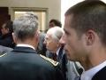Raymond Aubrac lors de l'inauguration du mémorial de la prison Montluc le 14 septembre 2010