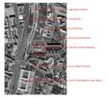 Vue aérienne de situation du site