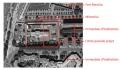 Vue aérienne des limites du projet de l'Université Jean Moulin Lyon 3