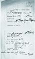 Fiche de renseignement sur la déportation à Auschwitz de Simone Kadosche