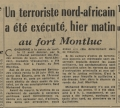 L'exécution du premier condamné à mort à Lyon