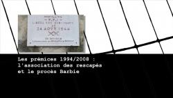 <span>1.1.1.</span> Les prémices 1994-2004 : l'association des rescapés et le procès Barbie