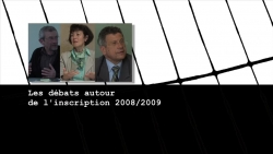 <span>1.1.6.</span> Les débats autour de l'inscription, du périmètre et de l'arrêté de protection 2008/2009